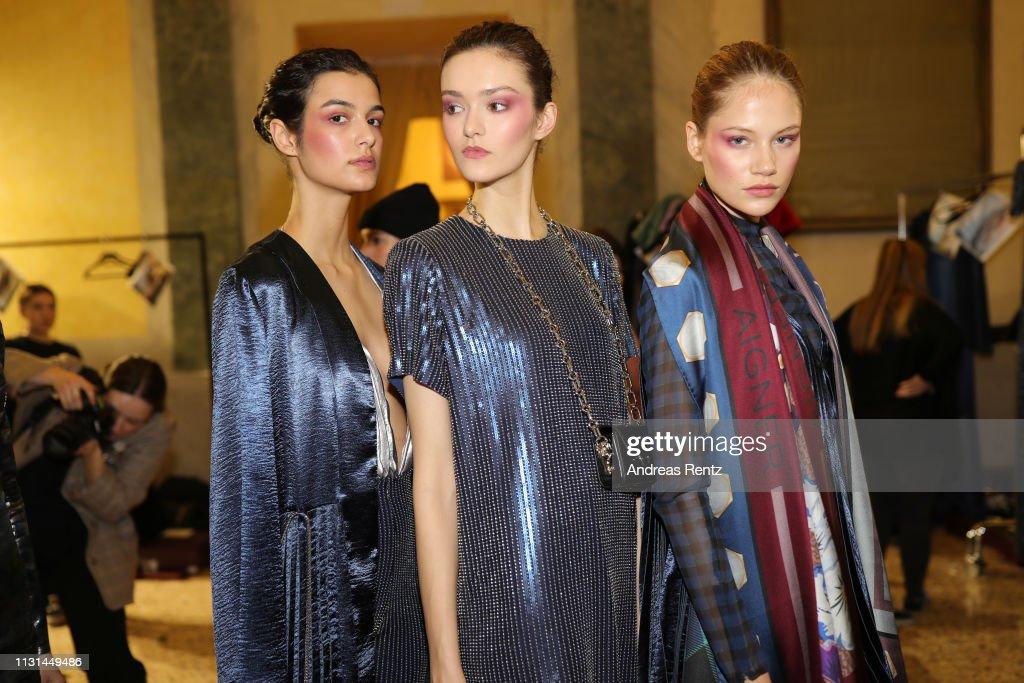 ITA: Aigner - Backstage: Milan Fashion Week Autumn/Winter 2019/20