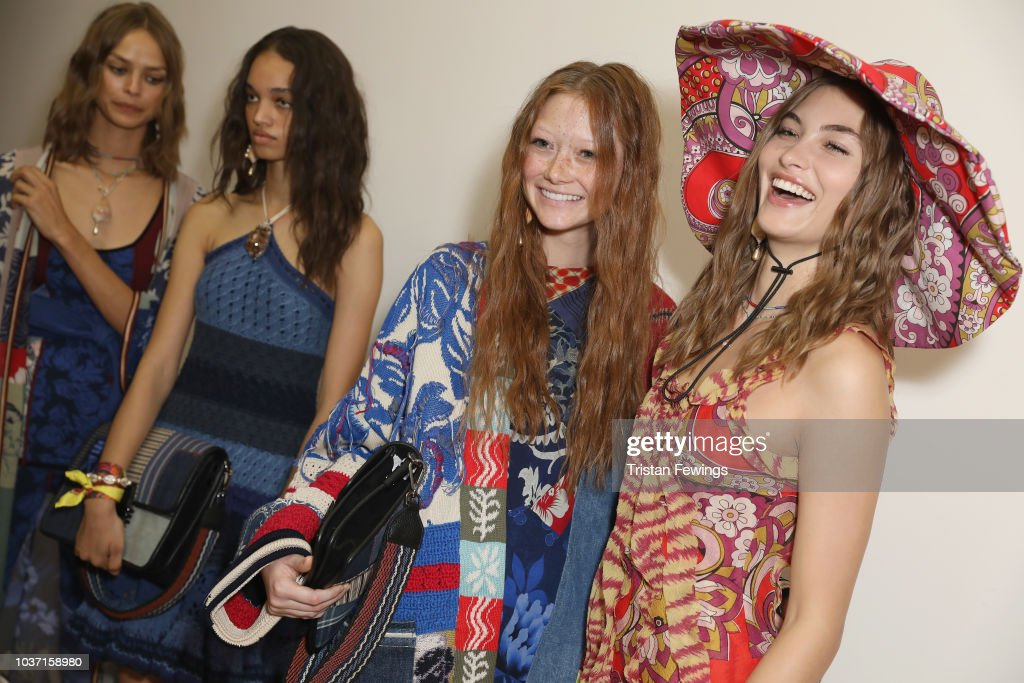 Etro - Backstage - Milan Fashion Week Spring/Summer 2019