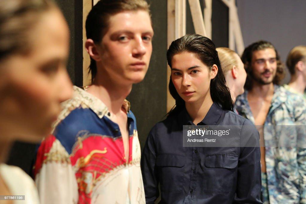 Hunting World - Backstage - Milan Men's Fashion Week Spring/Summer 2019 : ニュース写真