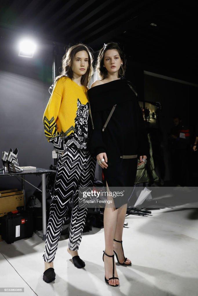 Krizia - Backstage - Milan Fashion Week Fall/Winter 2018/19