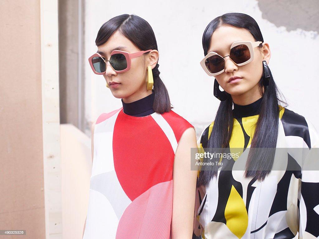 Marni - Backstage - Milan Fashion Week SS16 : News Photo