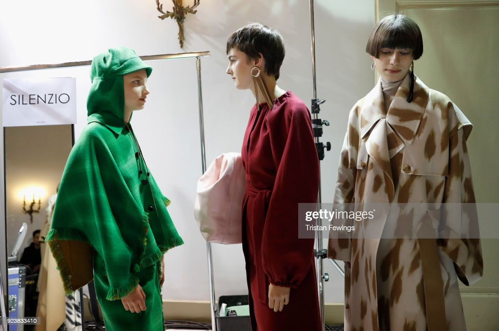 Mila Schon - Backstage - Milan Fashion Week Fall/Winter 2018/19