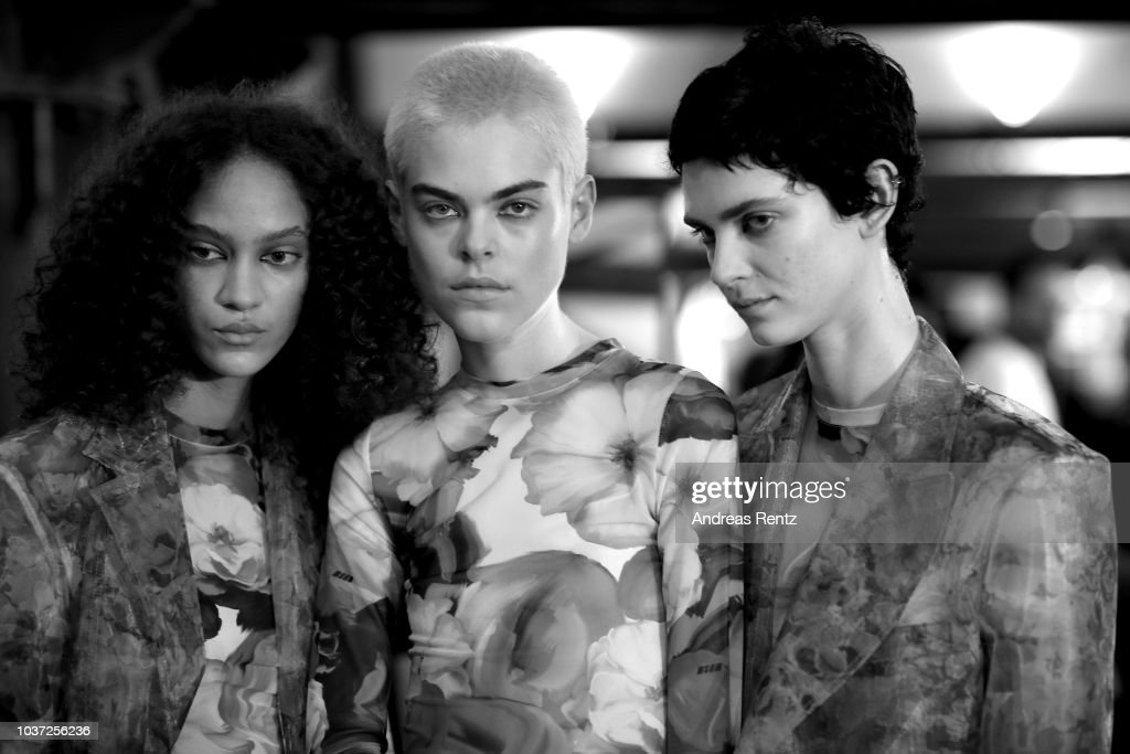 MSGM - Backstage - Milan Fashion Week Spring/Summer 2019