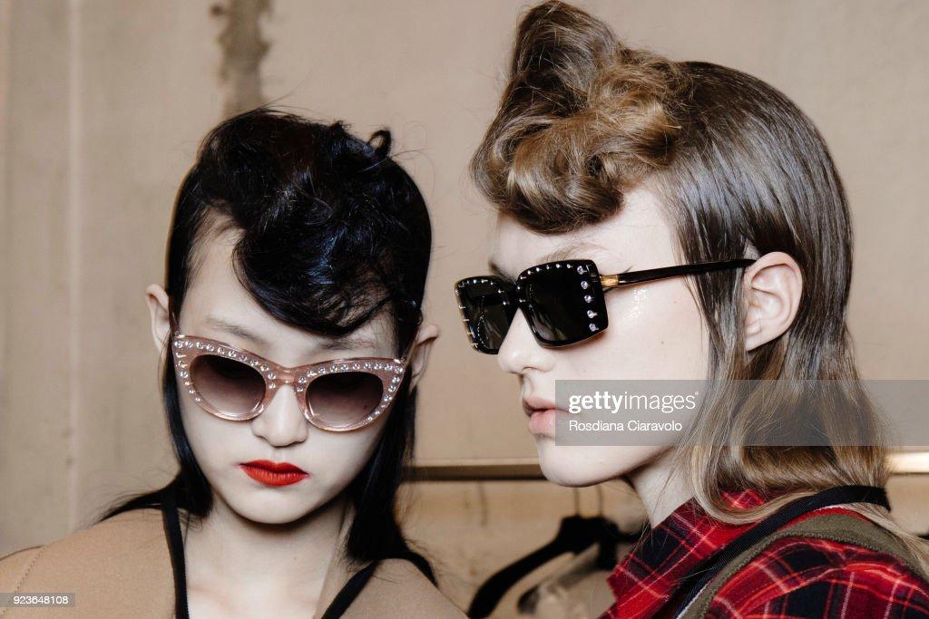N.21 - Backstage - Milan Fashion Week Fall/Winter 2018/19 : ニュース写真