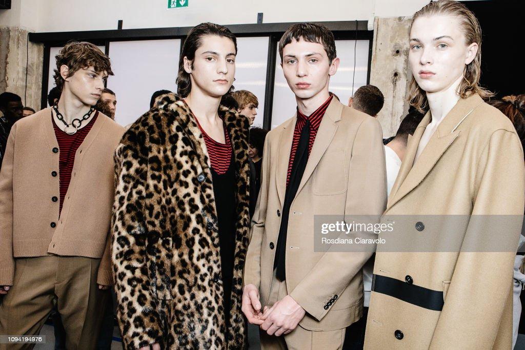 N.21 - Backstage - Milan Men's Fashion Week Autumn/Winter 2019/20 : ニュース写真