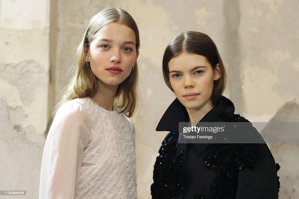 No21 - Backstage: Milan Fashion Week Autumn/Winter 2019/20 : ニュース写真
