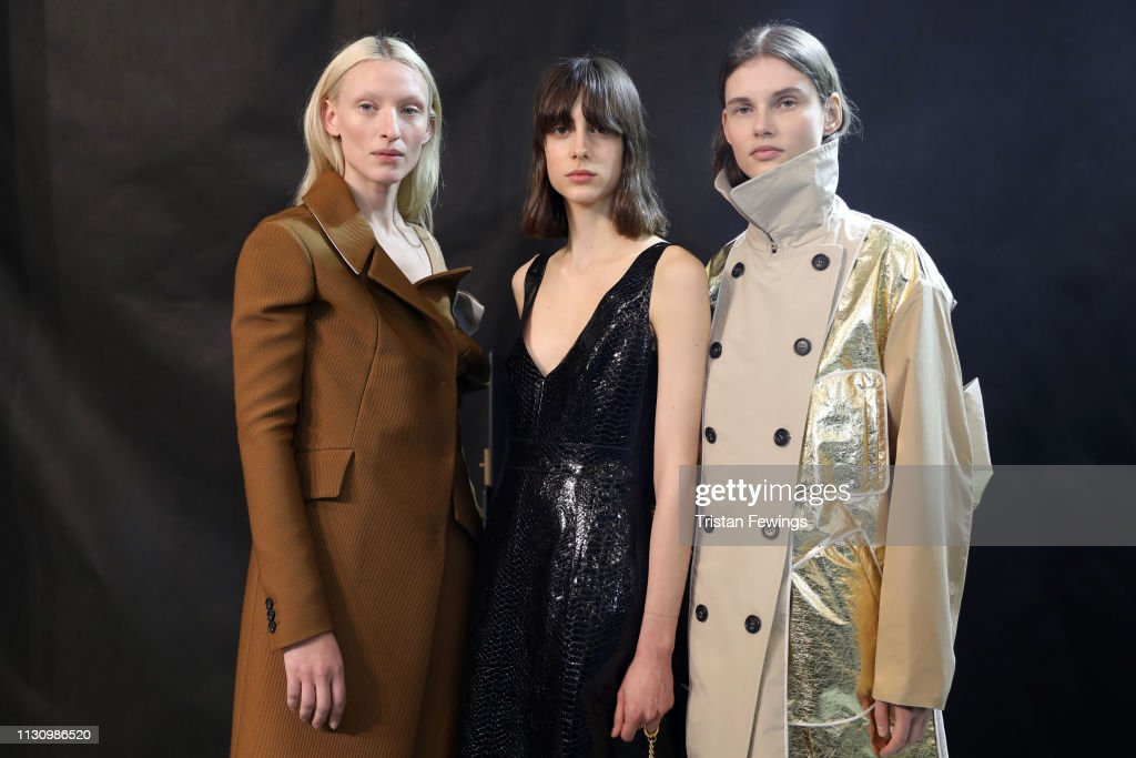 No21 - Backstage: Milan Fashion Week Autumn/Winter 2019/20 : ニュース写真