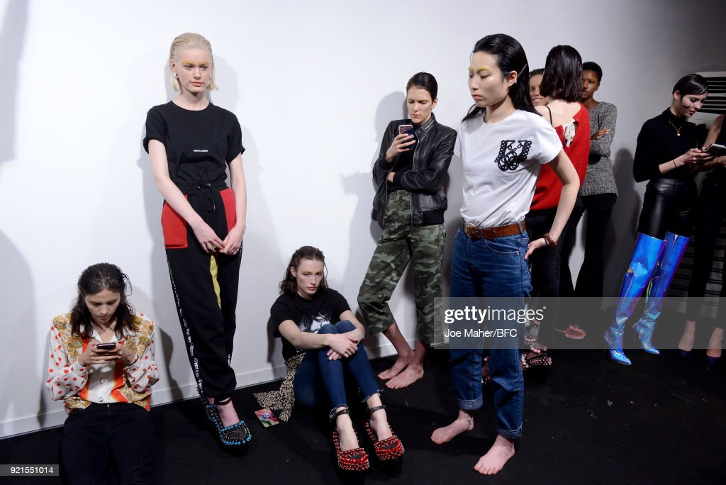 On|Off Presents - Backstage - LFW February 2018