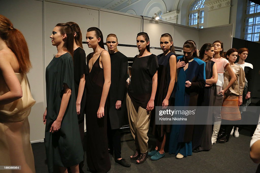Models Are Seen Backstage At The Best Collections Of Bhsad Fashion News Photo Getty Images