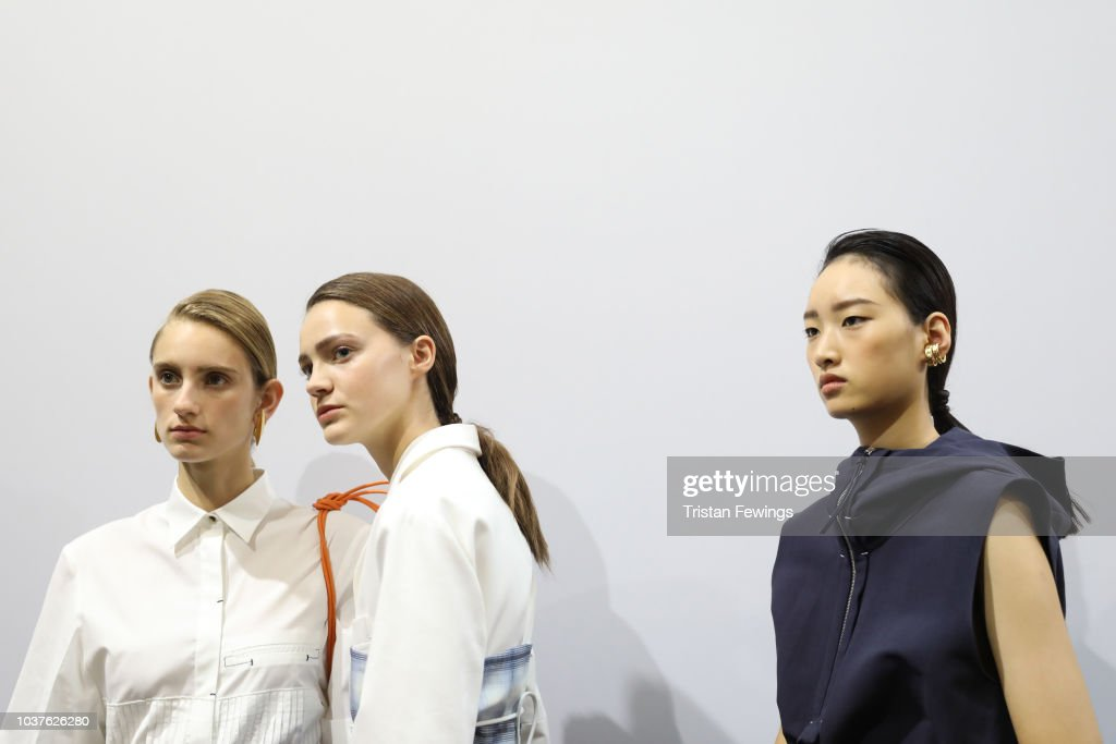 Gabriele Colangelo - Backstage - Milan Fashion Week Spring/Summer 2019