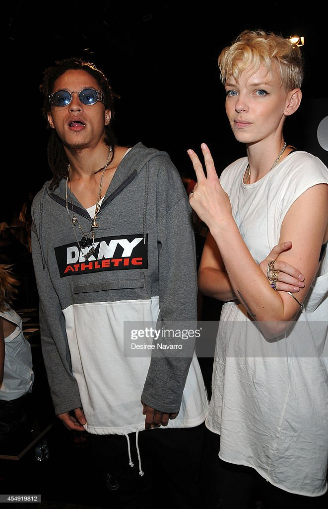 DKNY - Front Row & Backstage - Mercedes-Benz Fashion Week Spring 2015