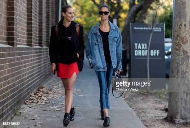 Models at day 3 during MercedesBenz Fashion Week Resort 18 Collections at Carriageworks on May 16 2017 in Sydney Australia