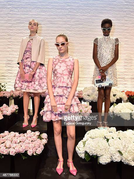 18b13c5ffc Models at the Kate Spade New York Presentation Spring 2016 New York Fashion  Week on September