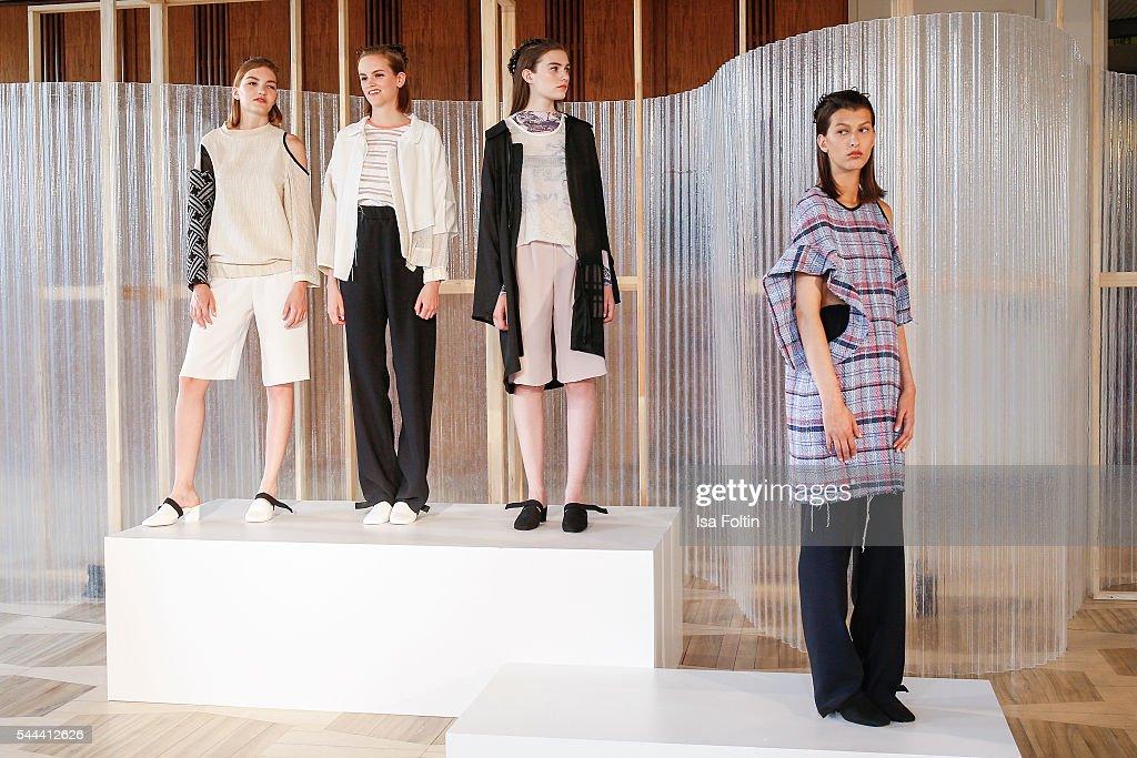 Vladimir Karaleev Presentation - Der Berliner Mode Salon Spring/Summer 2017 : News Photo