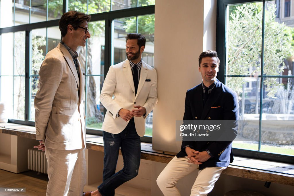 Brunello Cucinelli Presentation - Milan Men's Fashion Week Spring/Summer 2020 : News Photo