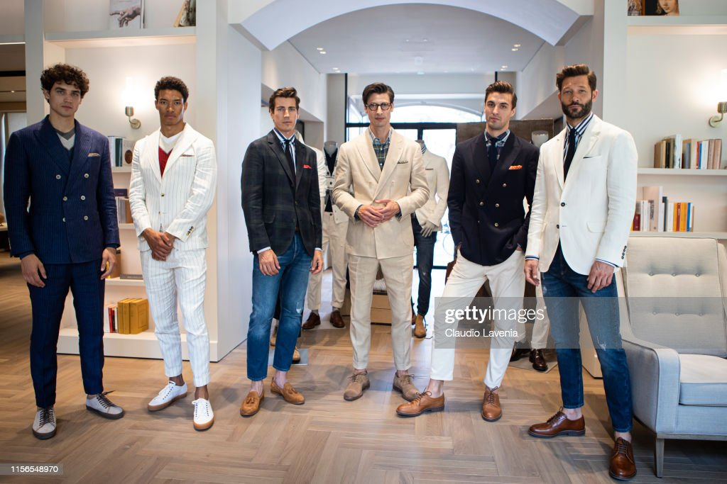 Brunello Cucinelli Presentation - Milan Men's Fashion Week Spring/Summer 2020 : News Photo