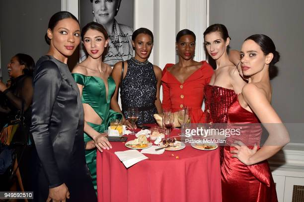 Models attend Opera and Couture Radmila Lolly at Carnegie Hall on April 20 2018 in New York City