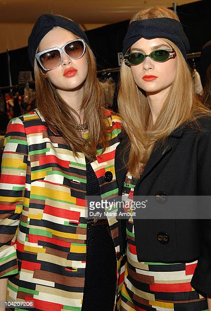 Models attend the Milly by Michelle Smith Spring 2011 fashion show during Mercedes-Benz Fashion Week at The Stage at Lincoln Center on September 15,...
