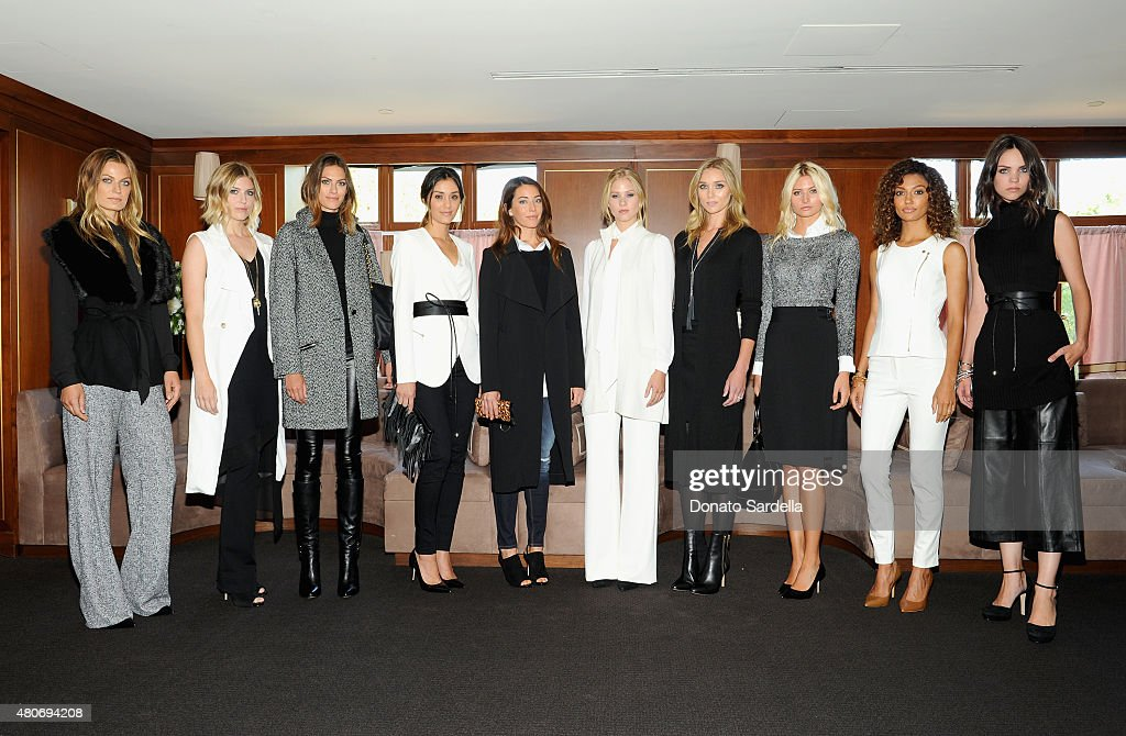 Models Attend The White House Black Market Fall Collection 2015 Luncheon  Hosted By Donna Noce And