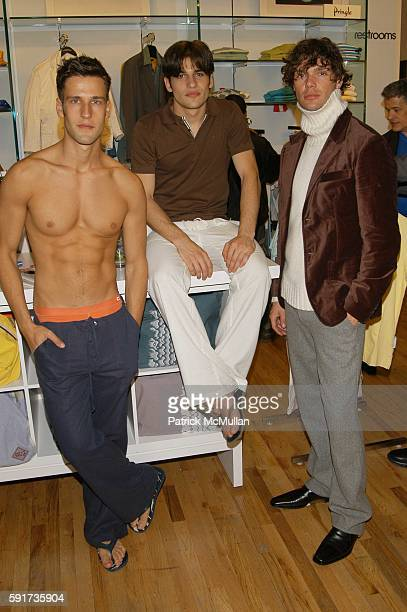 Models attends adameve Spring/Summer Collection preview and afterparty hosted by Paper Magazine Kal Ruttenstein at Bloomingdale's SoHo on May 10 2005