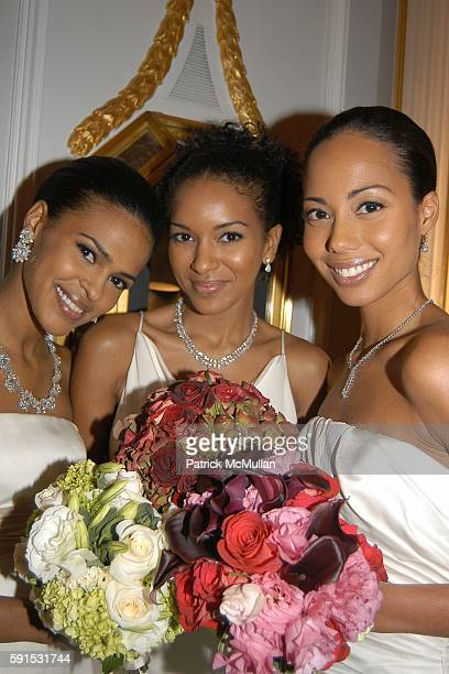 Models attends Amistad Hosts The Vow Publication Party at The House of Harry Winston on November 2 2005 in New York City