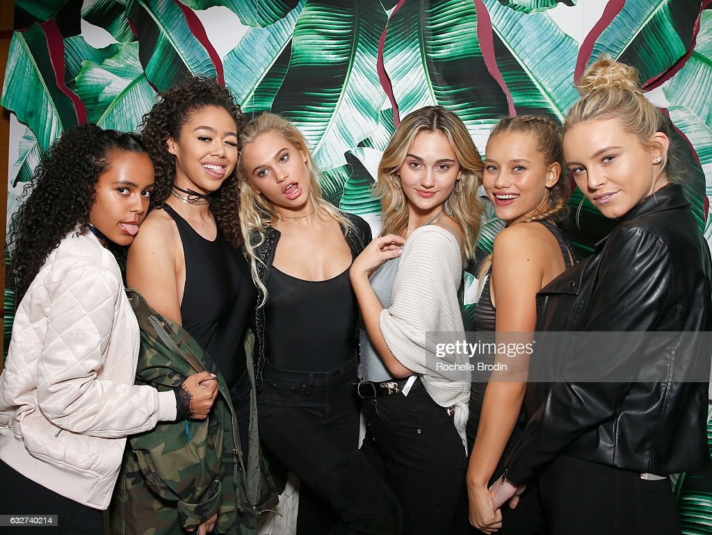 L.A. Hearts + PacSun Celebrate 2017 Spring Swimwear Collection At Delilah : News Photo