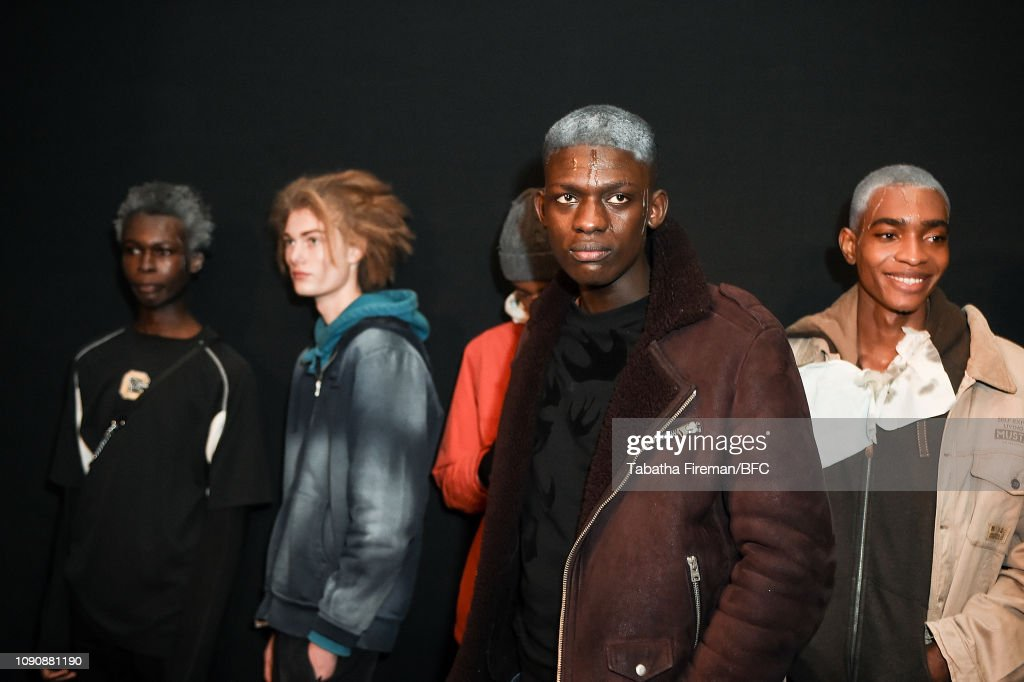 A-Cold-Wall - Backstage - LFWM January 2019 : ニュース写真