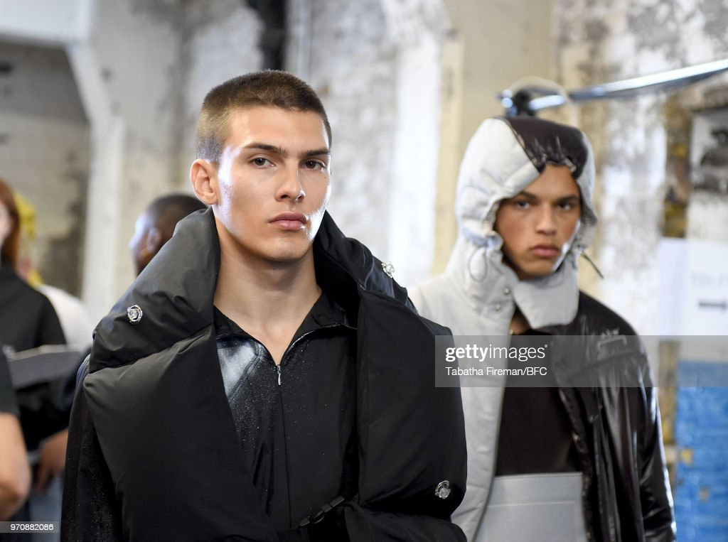 A-COLD-WALL* - Backstage - LFWM June 2018 : ニュース写真