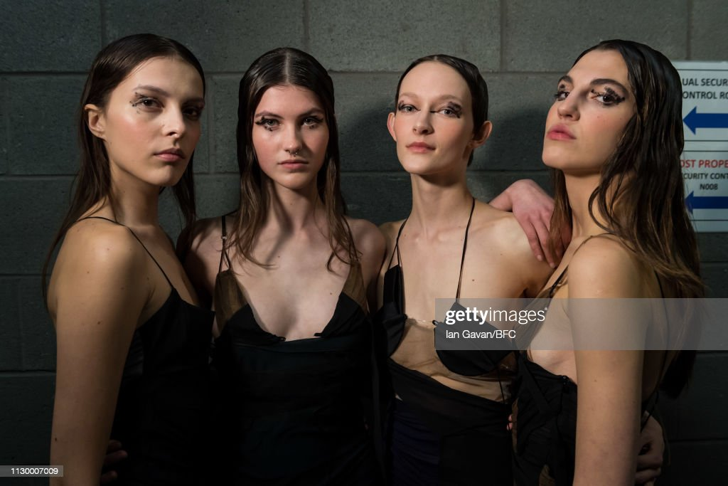 GBR: Central Saint Martins MA - Backstage - LFW February 2019