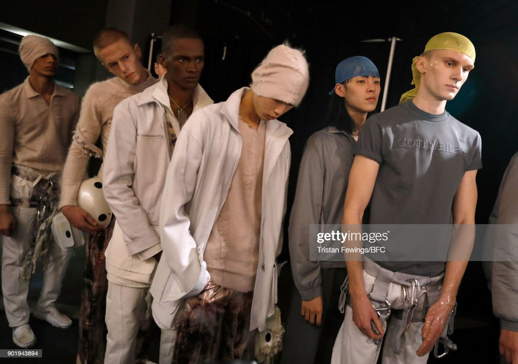 Cottweiler - Backstage - LFWM January 2018 : News Photo