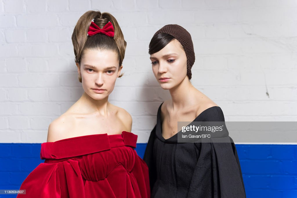 GBR: Emilia Wickstead - Backstage - LFW February 2019