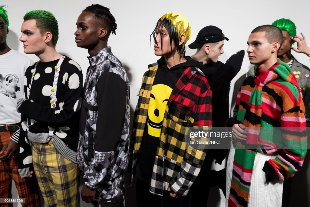 Liam Hodges - Backstage - LFWM January 2018 : ニュース写真