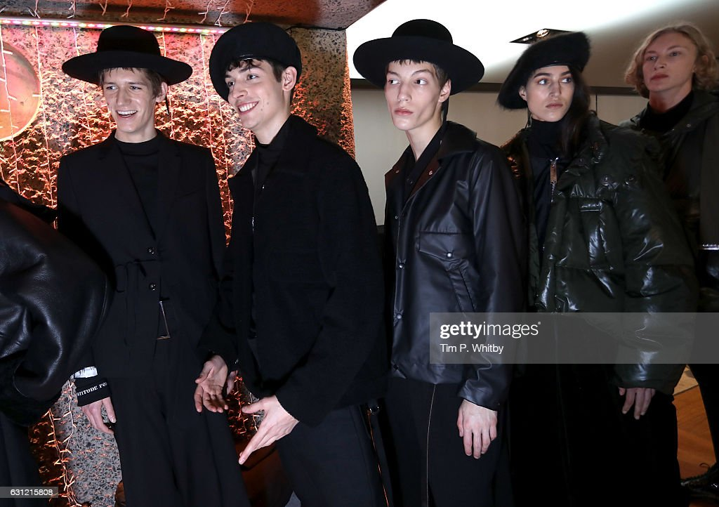 Maison MIHARA YASUHIRO - Backstage - LFW Men's January 2017 : News Photo