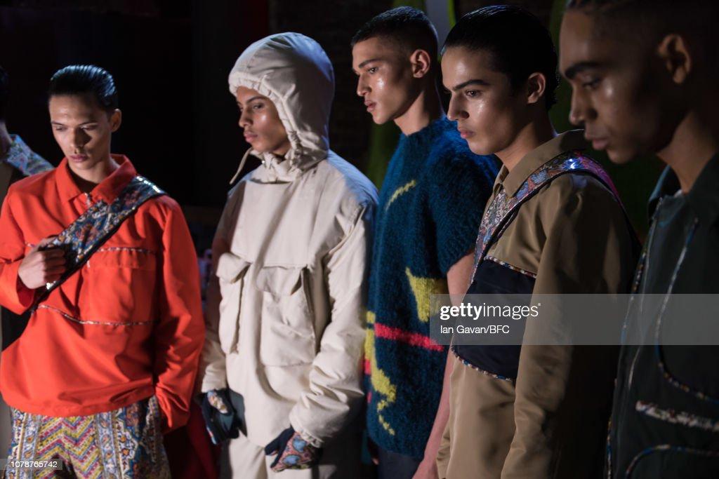 Paria Farzaneh - Backstage - LFWM January 2019 : ニュース写真