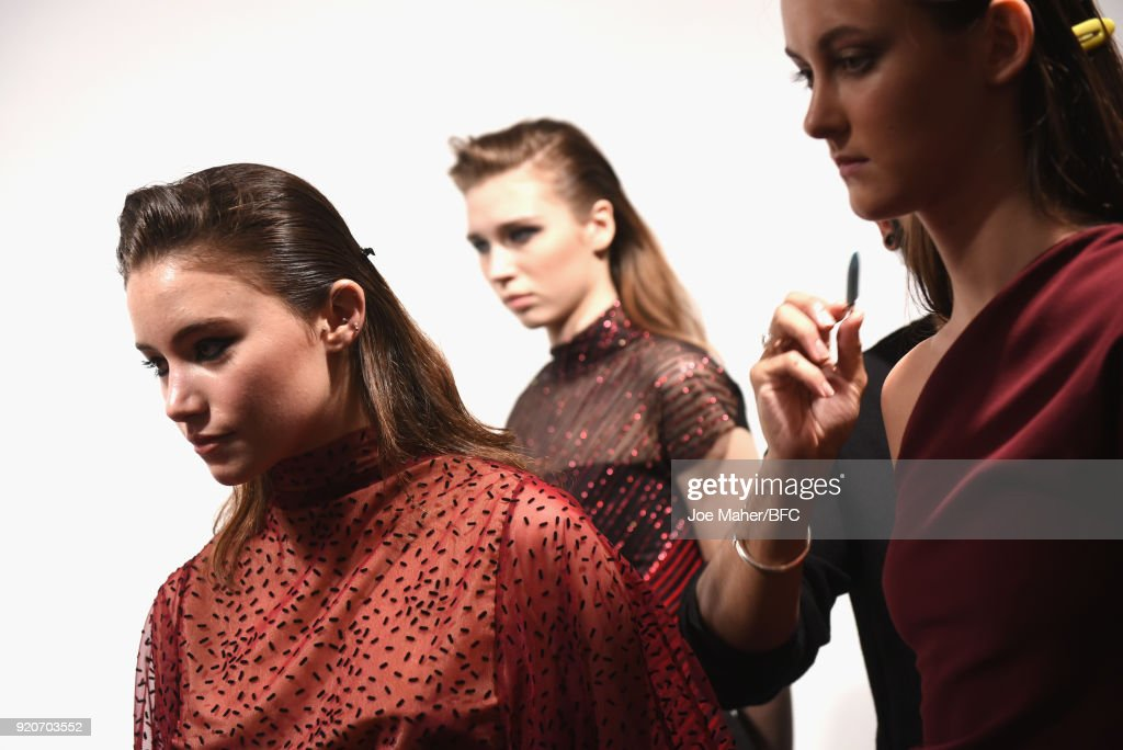Paula Knorr Presentation - Backstage - LFW February 2018