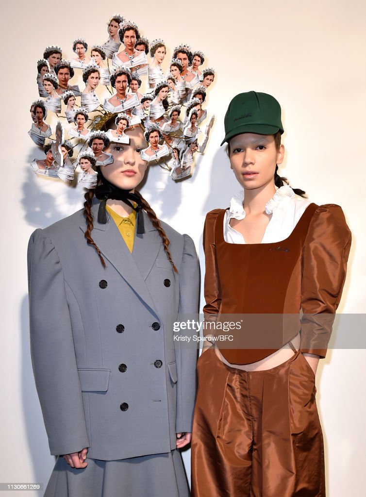 GBR: Push Button - Backstage - LFW February 2019