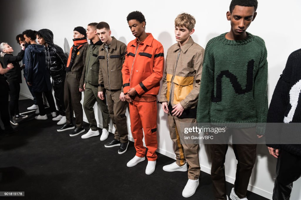 What We Wear - Backstage - LFWM January 2018 : ニュース写真