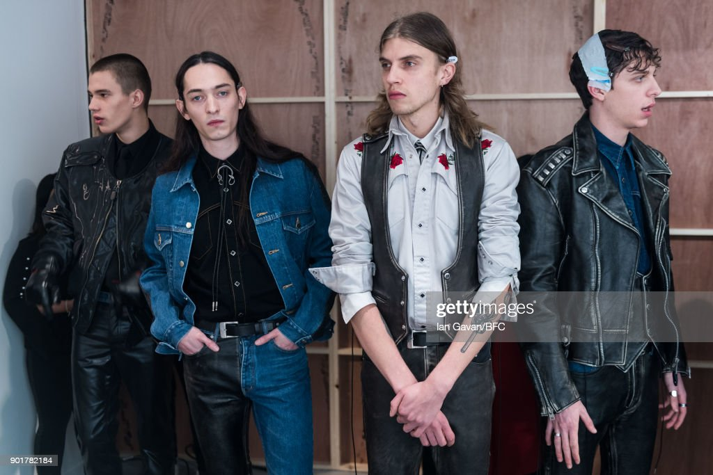 John Lawrence Sullivan - Backstage - LFWM January 2018 : Nachrichtenfoto