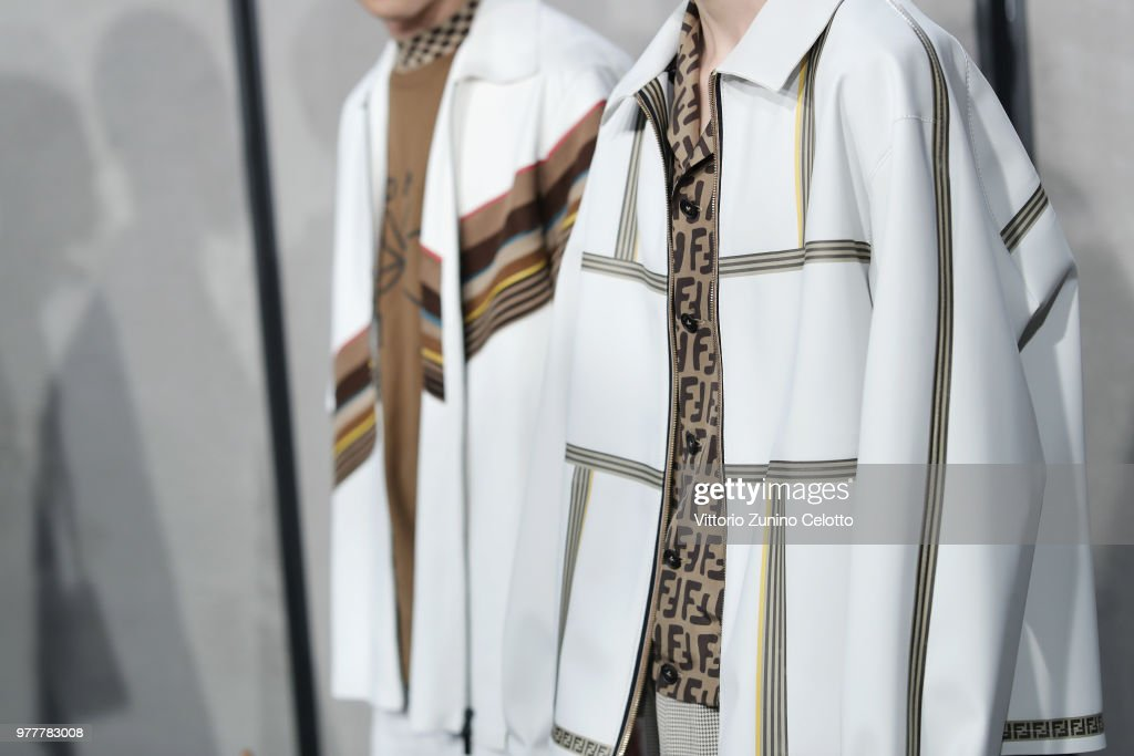 Fendi - Backstage - Milan Men's Fashion Week Spring/Summer 2019
