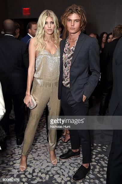 Models Devon Windsor and Jordan Barrett attend the The Daily Front Row's 4th Annual Fashion Media Awards at Park Hyatt New York on September 8 2016...
