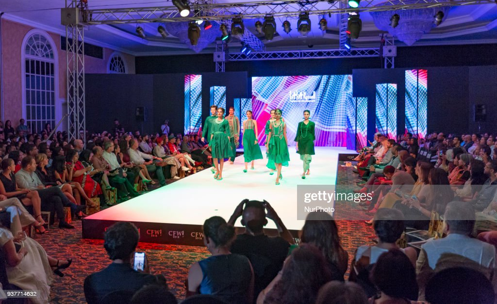 Models Display Creations By Bangladeshi Designer Bibi Russell During News Photo Getty Images