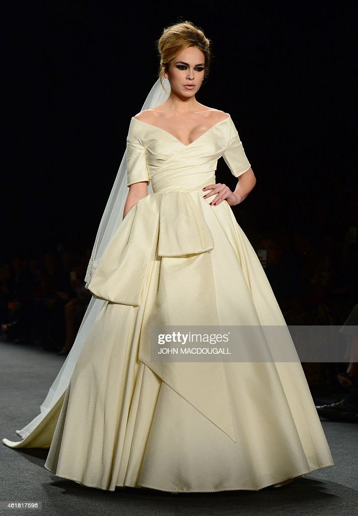 Designerlen Berlin models display fashion by austrian designer lena hoschek at the
