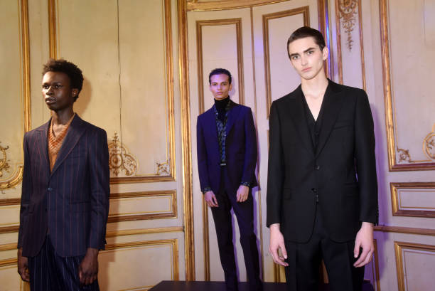FRA: Smalto : Cocktail Presentation - Paris Fashion Week - Menswear F/W 2020-2021