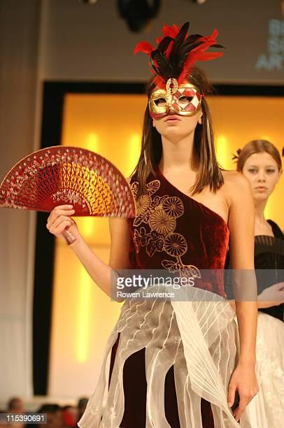 Models during 2003 Clotheshow Live at Birmingham NEC in Birmingham, Great Britain.