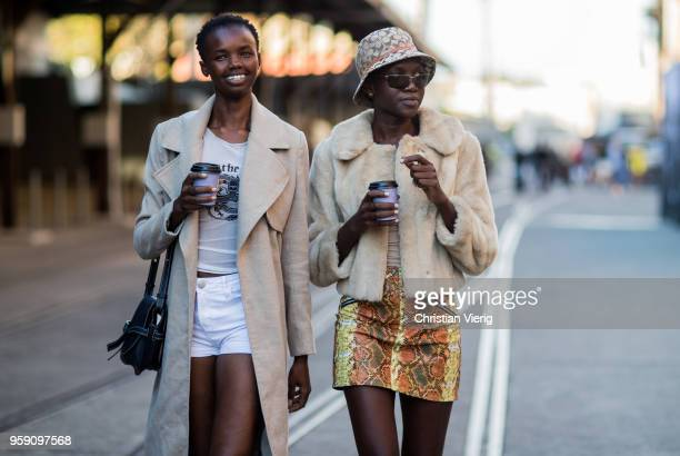 Models during MercedesBenz Fashion Week Resort 19 Collections at Carriageworks on May 16 2018 in Sydney Australia