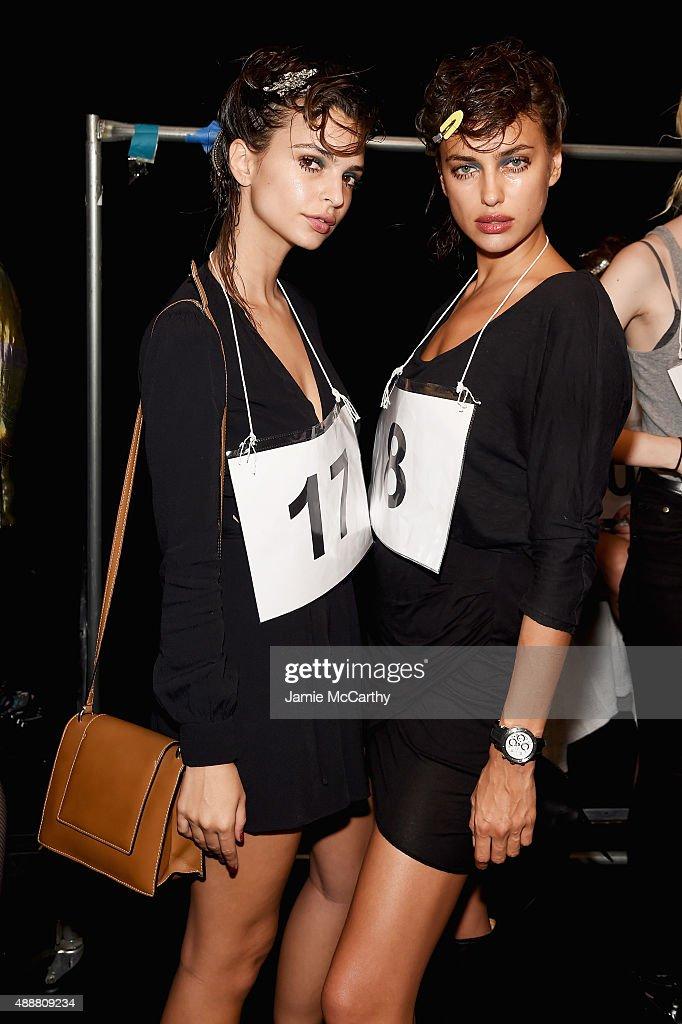 Marc Jacobs - Backstage- Spring 2016 New York Fashion Week : News Photo