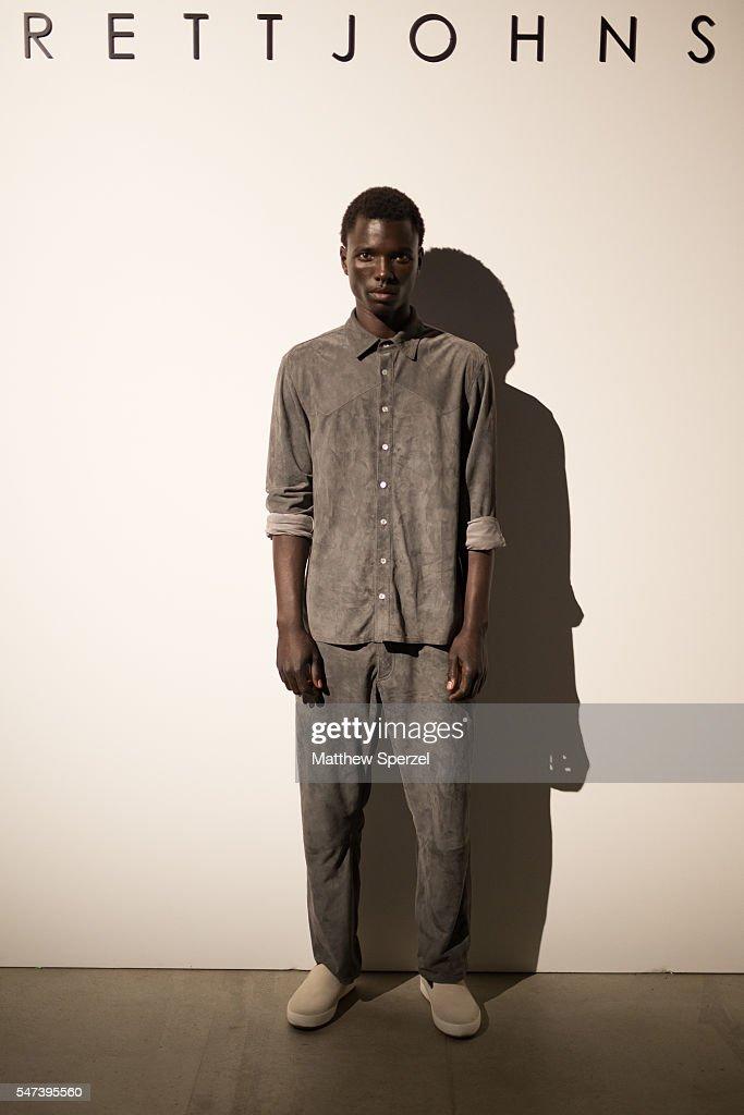 NY: Brett Johnson - Presentation - New York Fashion Week: Men's S/S 2017