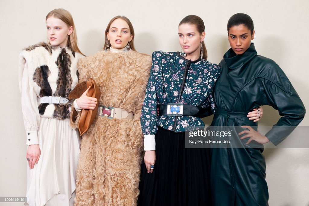 Isabel Marant : Backstage - Paris Fashion Week Womenswear Fall/Winter 2020/2021 : ニュース写真