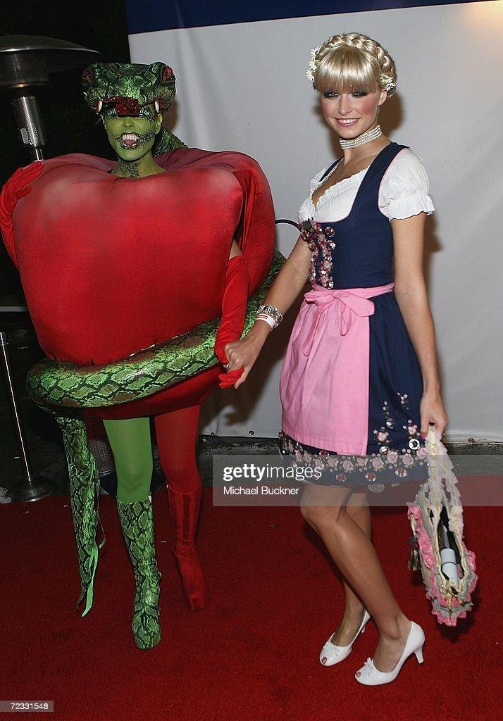 Models Heidi Klum And Lena Gercke Arrive At Heidi Klum S 7th