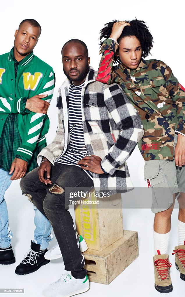 Ian Connor, Luka Sabbat, Heron Preston and Virgil Abloh, GQ, September 2015
